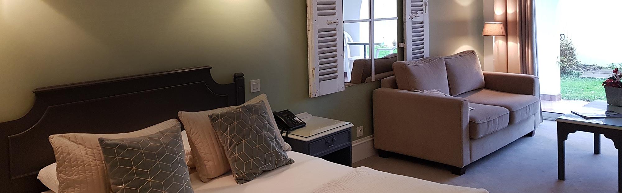 Chambre Grand Confort Réserver une chambre d'hôtel - Les Voyageurs