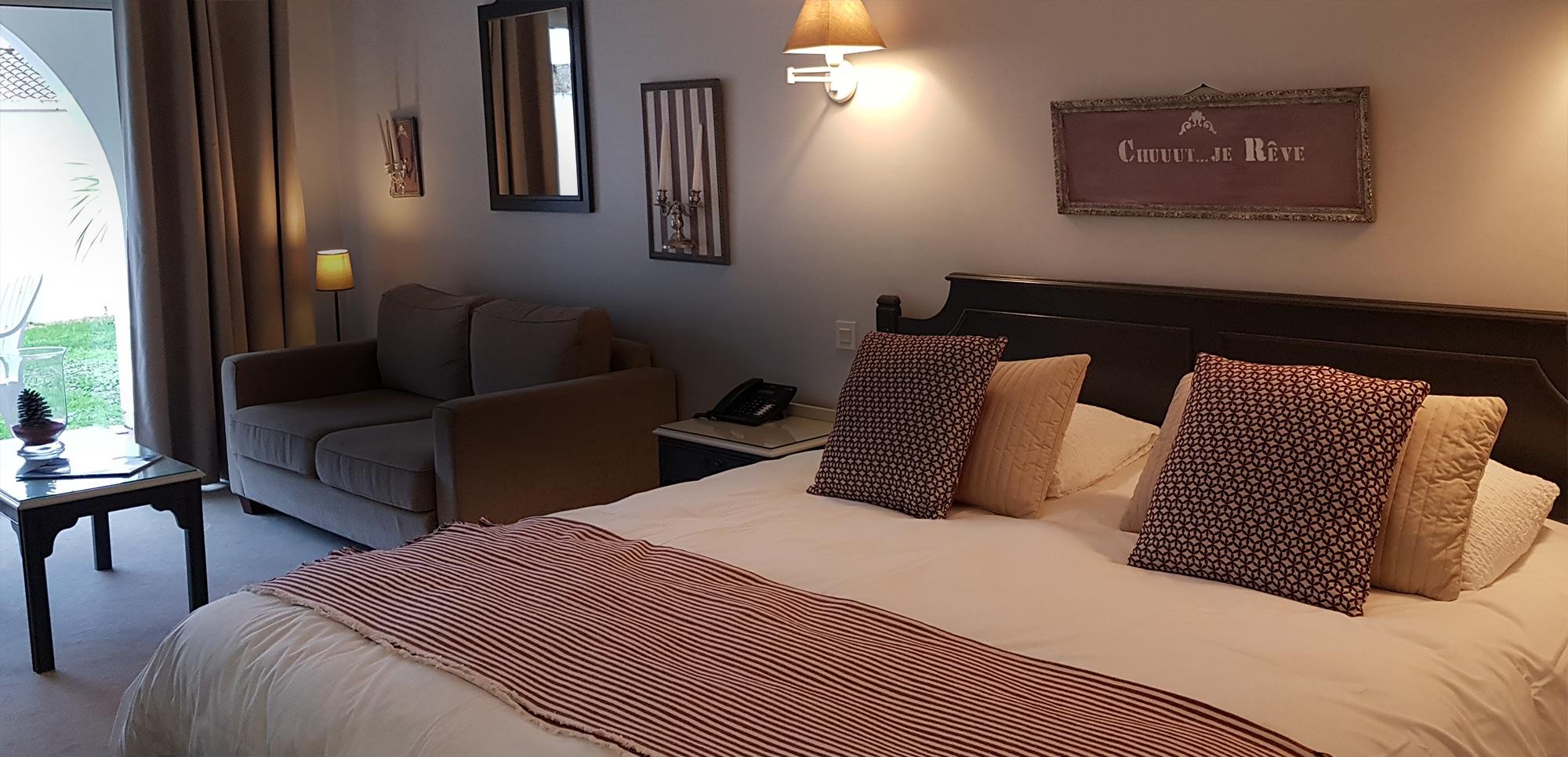 Hôtel de charme Les Voyageurs - Chambre